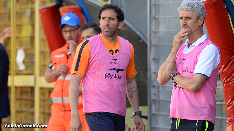 Fabio Caserta, tecnico della Juve Stabia, ex rossazzurro