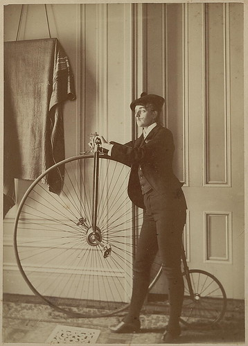 Johnston With Bike