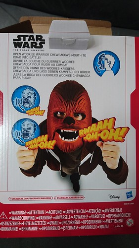 Chewbacca Mask - Box Back
