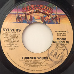SYLVERS:FOREVER YOURS(LABEL SIDE-B)