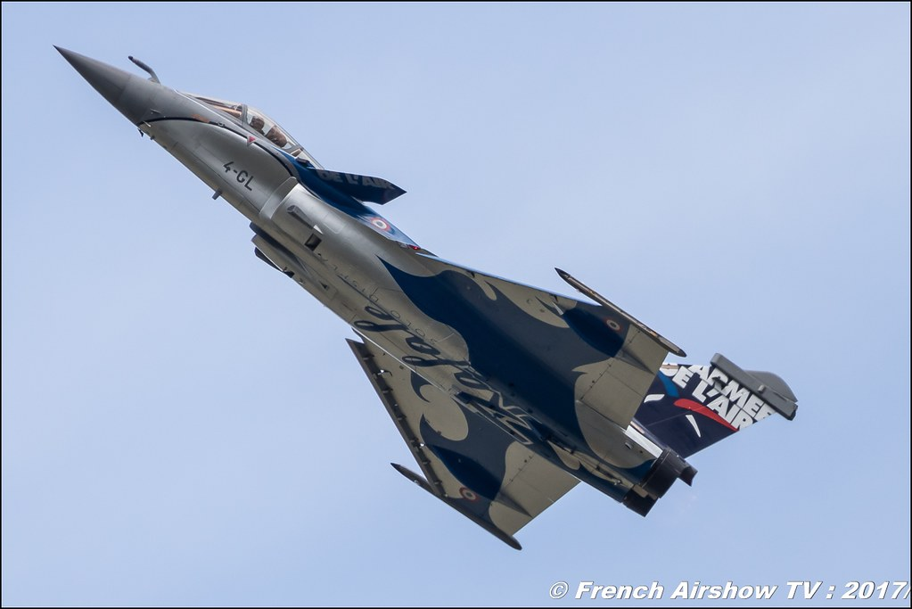 rafale solo display 2017 ,Meeting de l'Air BA-106 Bordeaux 2017