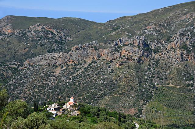 Anidri Gorge route, Paleochora, Crete