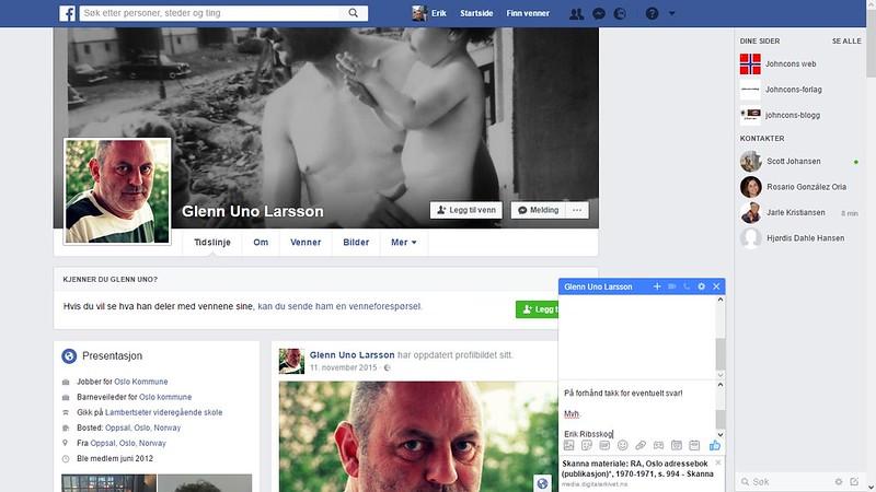 facebook glenn uno larsson