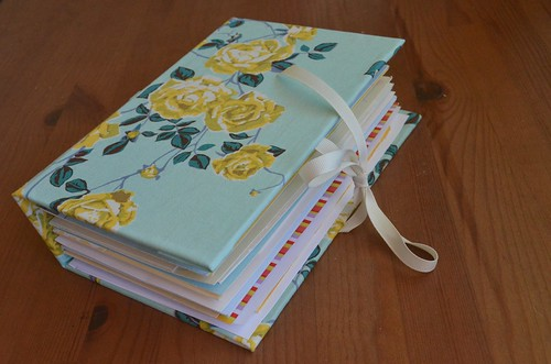 Completed Greeting Card Album