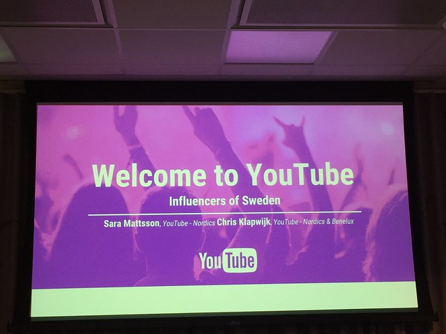 Besök på YouTube Sverige - business and pleasure