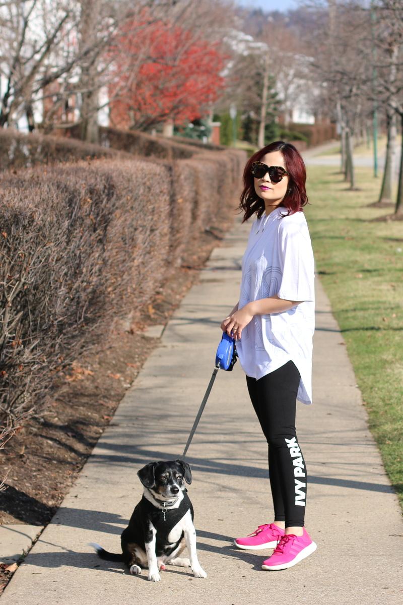 ivy-park-leggings-shirt-adidas-pureboost-dog-1