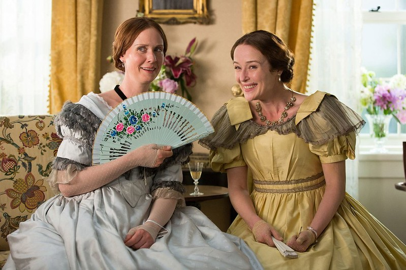 Cynthia Nixon and Jennifer Ehle offer a rich portrait of Emily Dickinson's life in A QUIET PASSION.