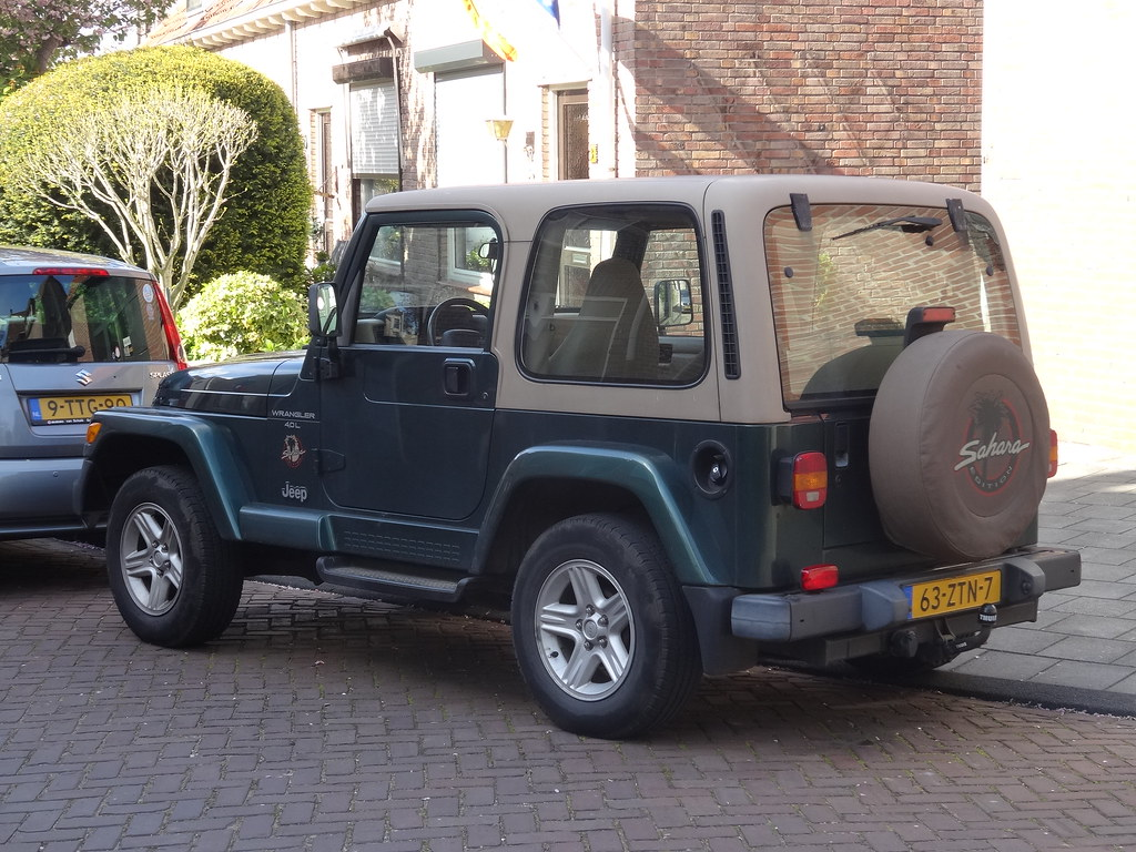 ... 2000 Jeep Wrangler Sahara | By Harry_nl