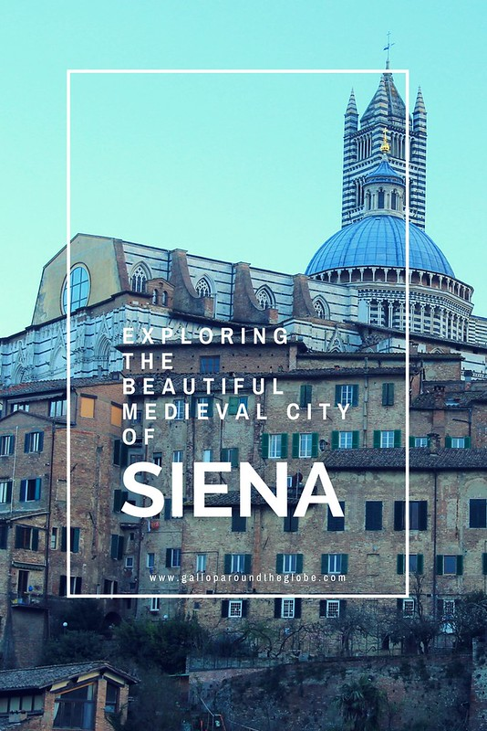 Exploring the beautiful medieval city of Siena