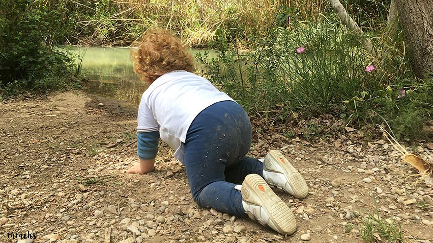 niños disfrutando en el rio