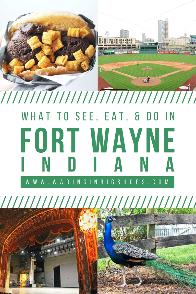 The Weekend Getaway You've Overlooked: Visit Fort Wayne, Indiana // Located equidistantly from Chicago, Cincinnati, and Detroit, Fort Wayne, Indiana is a fun midwest destination that captures a perfect blend of city, nature, and local flavors! Click through to learn what makes Indiana's second-largest city the perfect spot for a weekend getaway.