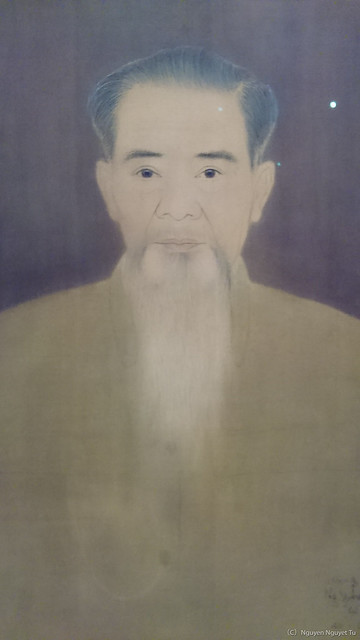 《自画像》(1962年、グエン家蔵)