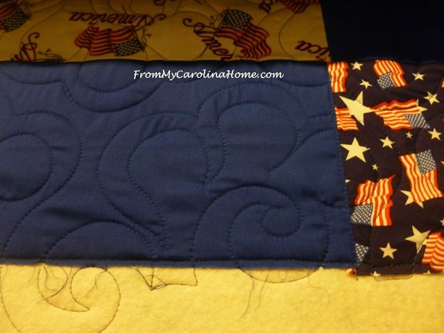 Quilt of Valor Eagle Panel