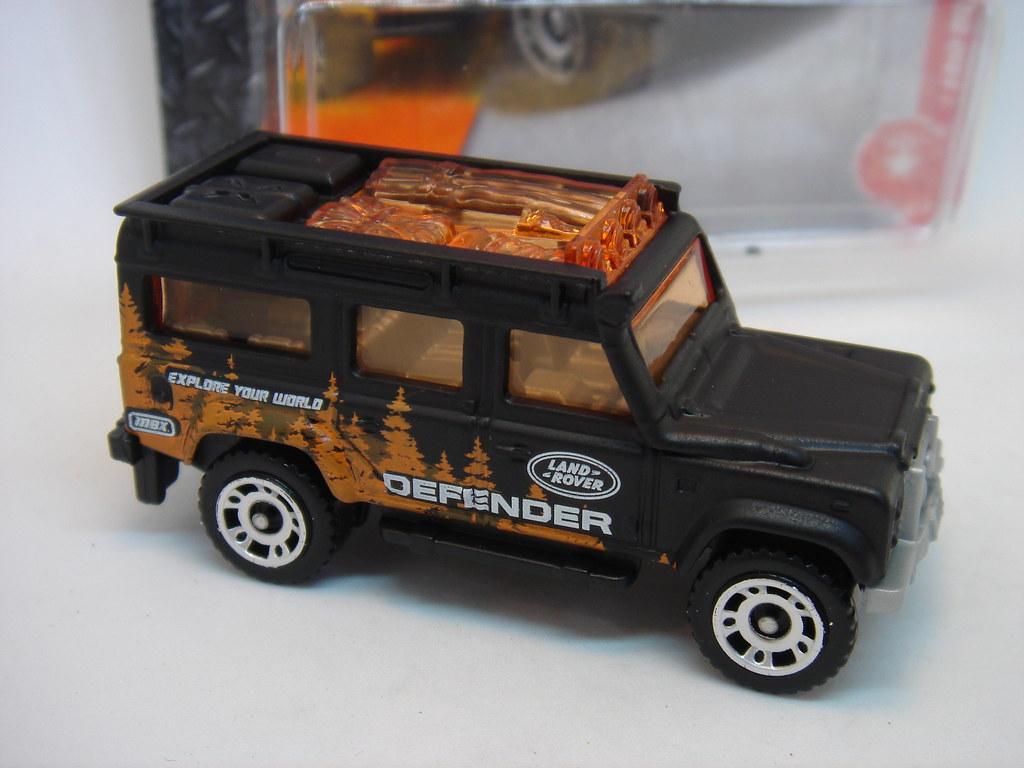 Matte Black Land Rover >> MATCHBOX LAND-ROVER DEFENDER 110 NO41 EXPLORE YOUR WORLD 1…   Flickr