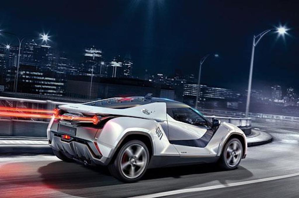 Tata Racemo rear
