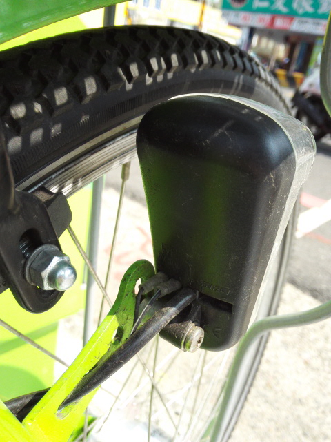 T-bikeのライト 台南自転車