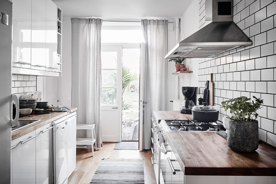 Small But Very Cosy Scandinavian Apartment