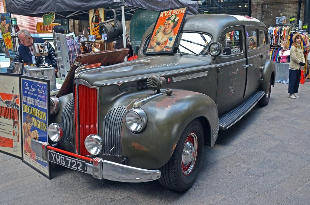 1941 Packard Ambulance | Classic Car Boot Sale - April 2017 | Flickr