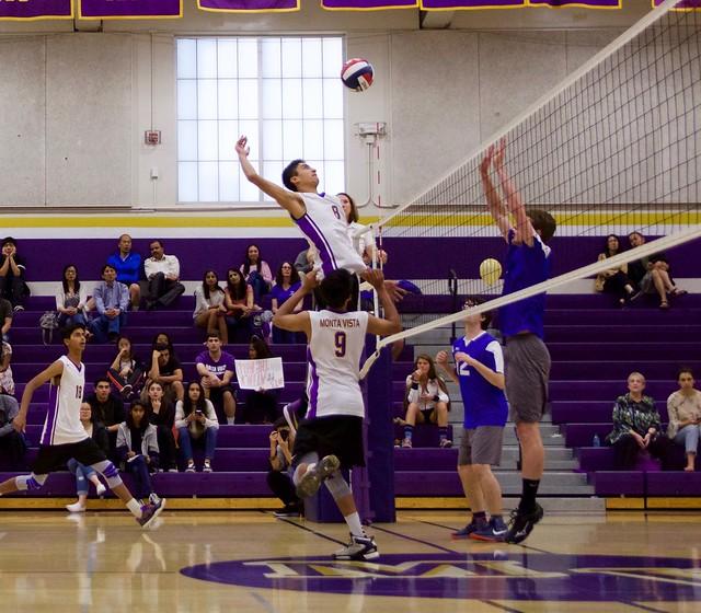 Boys Volleyball vs Los Altos- Senior night