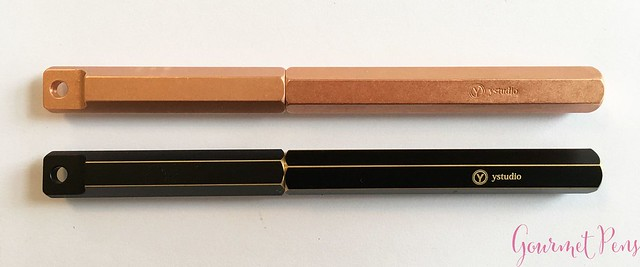 Review YStudio The Weight of Words Portable Fountain Pen - Brassing & Classic @AppelboomLaren 17