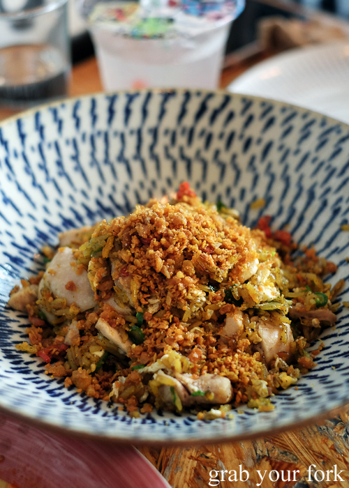 Masala fried rice at Ms G's in Potts Point Sydney