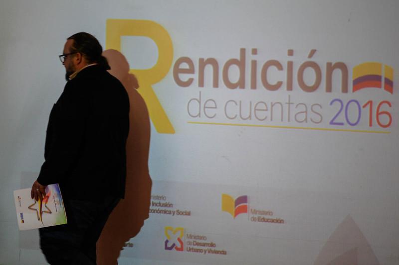 Rendición de Cuentas 2016 FRENTE SOCIAL