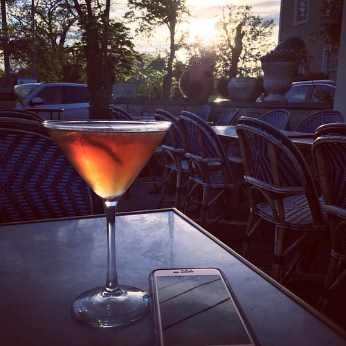 Sometimes a good martini and great book is all you need on a Monday evening.   #booksandfood #booklover #booksandmartinis #martini #booksandbooze | by alis.smith