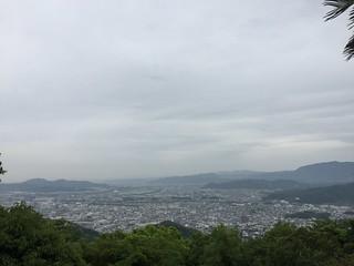カンポの宿 徳島 から見た眺め