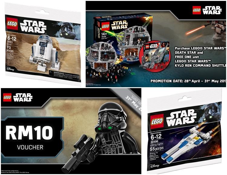 Exclusive LEGO Star Wars Classic merchandise