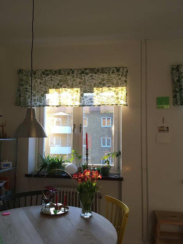 monday, my kitchen, the light, spring, helsingborg