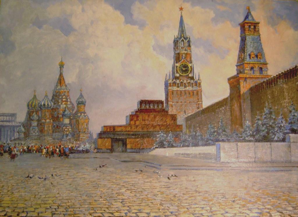 维克多·阿斯塔利采夫画作选26