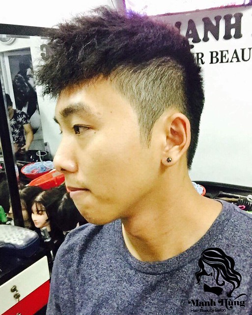 cắt tóc nam đẹp 8
