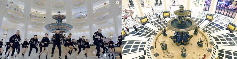 psy parisian lobby fountain