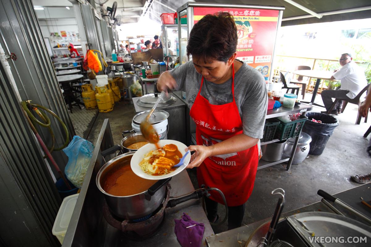Curry Mee Jawa Mee Prawn Mee Stall