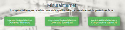 misurainternet