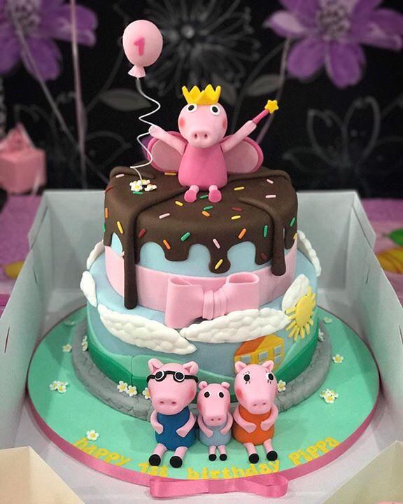 Peppa Pig Birthday Cake Rachael Swift Flickr