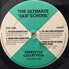 V.A.:THE ULTIMATE  OLD SCHOOL FREESTYLE COLLECTION(LABEL SIDE-A)