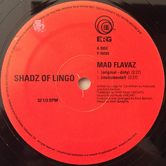 SHADZ OF LINGO:MAD FLAVA(LABEL SIDE-A)