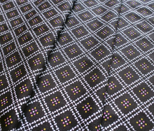 Cloud9 Fabrics Stay Gold 160450 Jenny's Plaid Smoke