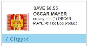 Hot Dog Coupon
