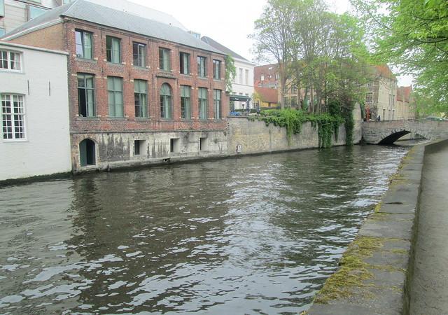 Canal, Bridge, Bruges