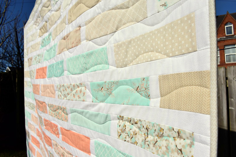 Lullaby Cot Quilt (British Patchwork & Quilting June17)