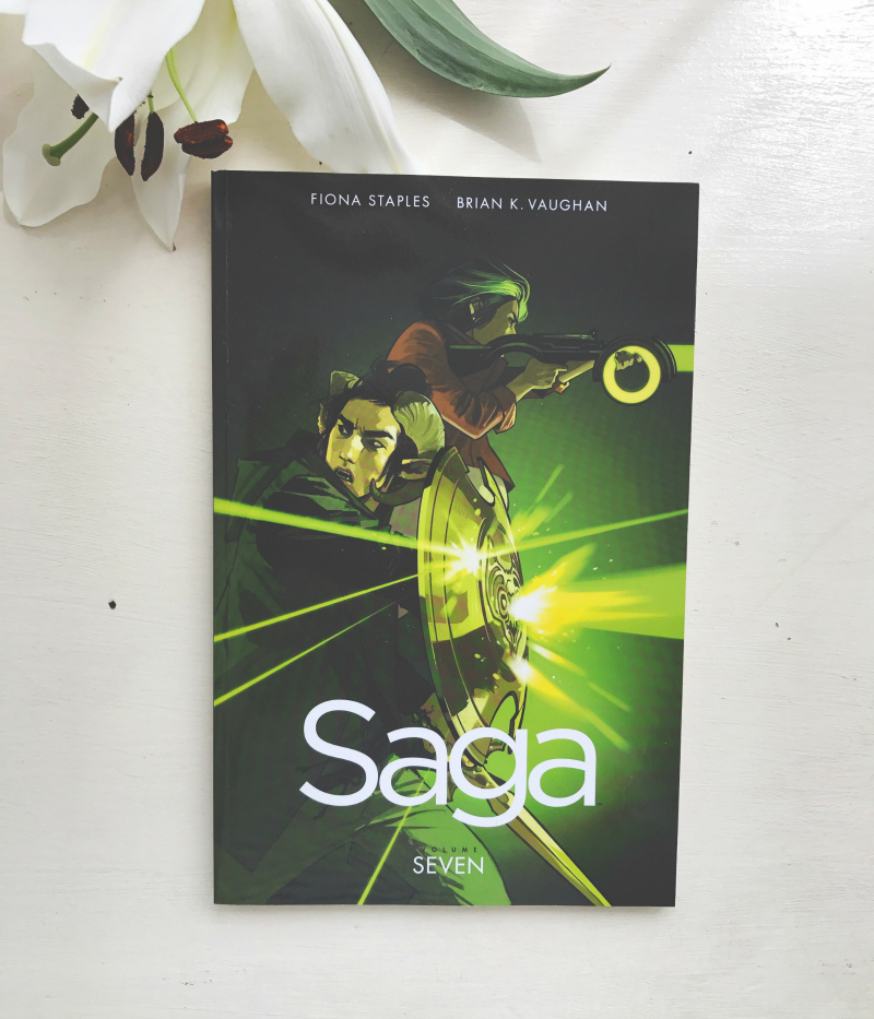saga volume 7 book review blogger vivatramp