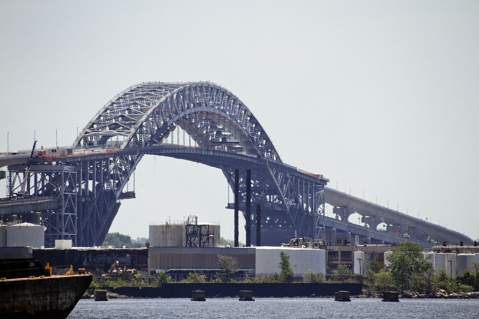 New york bayonne bridge roadbed raising for Forum bayonne