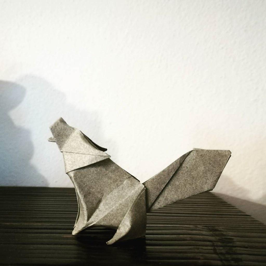 Origami Wolf Model By Jo Nakashima Camilla Zeymer Origa Flickr