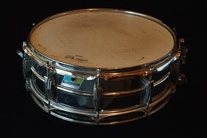 Ludwig LM400 & 402 Steal Snare