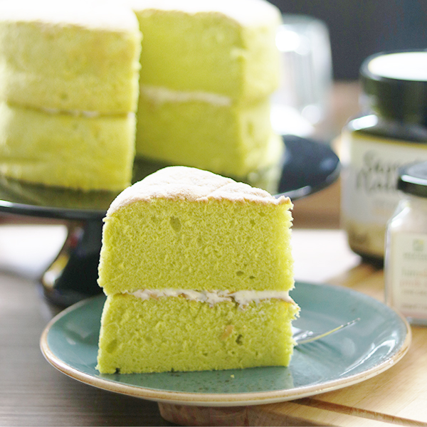 Suntec City Sweet Treats: Cedele - Pandan Angel Sponge Cake
