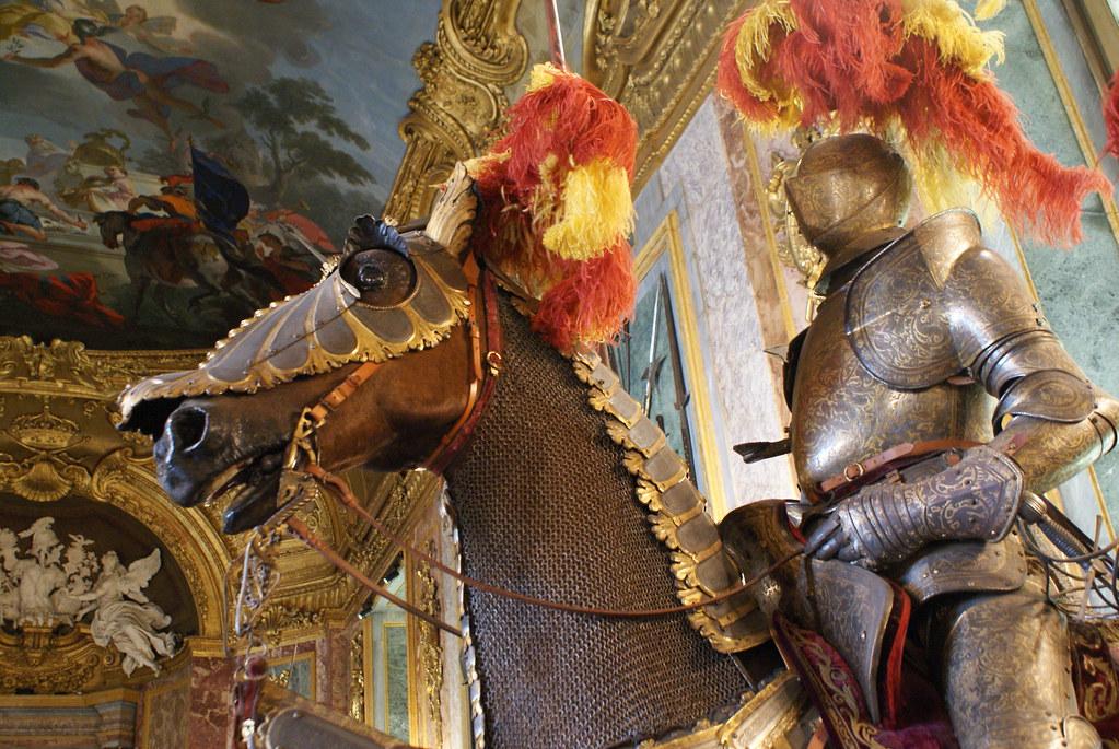 Musée des armes dans le palais royal (Polo Reale) de Turin.