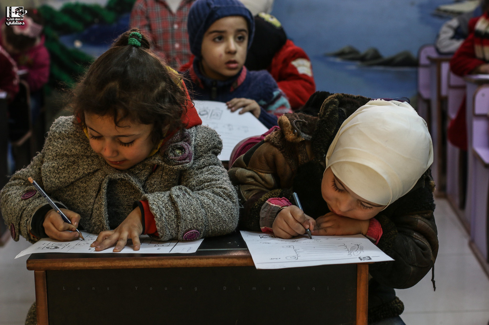 Studying Under the Ground is Safer | by Take a look on Syria without propaganda