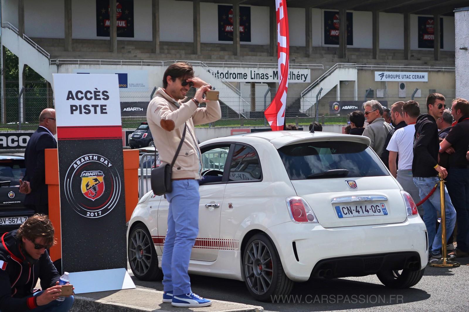 Abarth Day 2017 - Circuit Linas Montlhéry